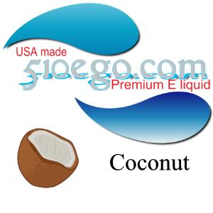 Coconut e liquid