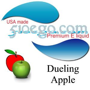 Dueling apple e liquid