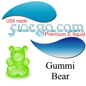 Gummi bear e liquid