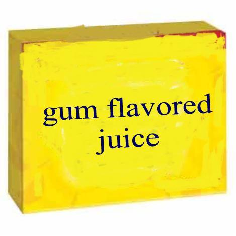 gum flavored juice e liquid